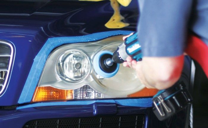 How to Do the Polishing of Car Headlights with Your Own Hands?