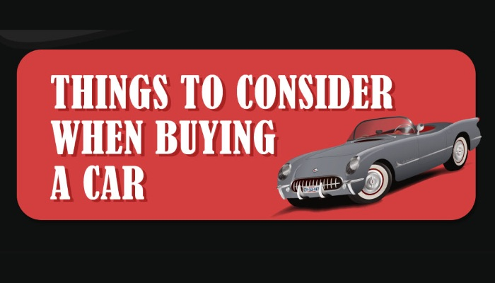 Infographic: Things to Consider When Buying a Car