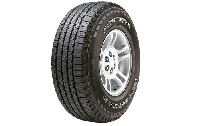 Goodyear Fortera HL – Review of SUV and Crossover Tires