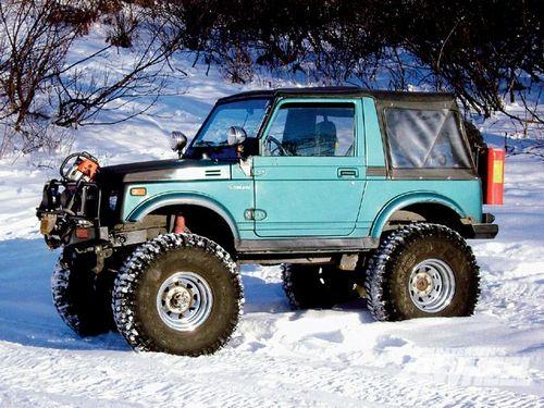 Compare Suzuki Jimny and Suzuki Samurai. Which is Better