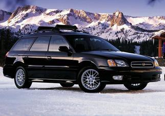 Legacy III Station Wagon (BE,BH, facelift) 2001-2003