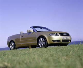 A4 Cabriolet (B6 8H) 2001-2005
