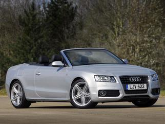 A5 Cabriolet (8F7) 2009-2011