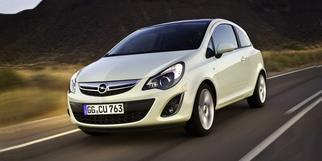Corsa D (Facelift 2011) 3-door 2011-2014