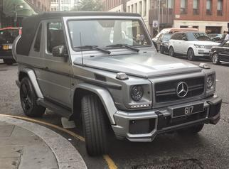 G-class cabriolet (W463 facelift) 2012-2015