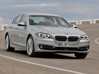 5 Series Sedan (F10 LCI, Facelift 2013) 2013-2016