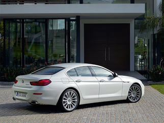 6 Series Gran Coupe (F06 LCI, facelift) 2015-2018