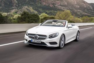 S-class Cabriolet (A217) 2015-2017