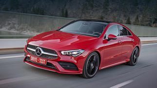 CLA Coupe (C117 facelift) 2016