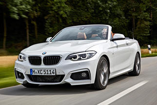 2 Series Convertible (F23 LCI, facelift) 2017-2020