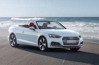 A5 Cabriolet (F5) 2016-2019