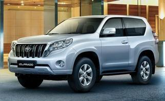 Land Cruiser Prado (J150 facelift) 3Door 2017-2020
