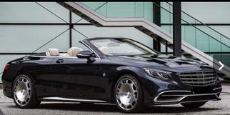 Maybach S-class Cabriolet 2016-2017