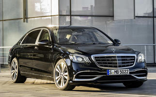 Maybach S-class (W222, facelift) 2017-2020