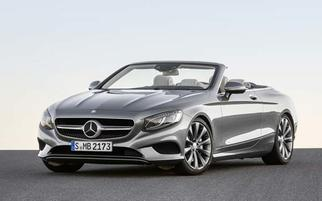 S-class Cabriolet (A217, facelift) 2017-2020